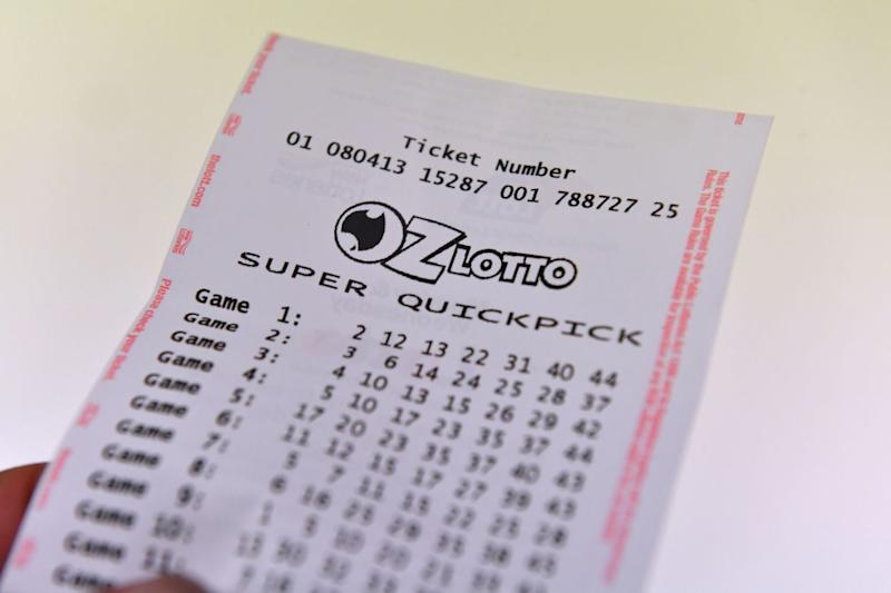 The winning ticket to Tuesday night's $40 million Oz Lotto draw was purchased in Blacktown, western Sydney. Source: AAP, file