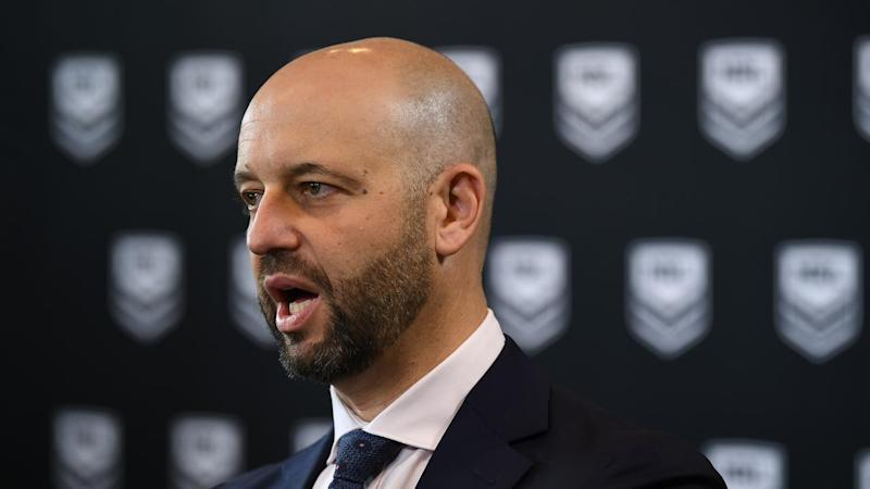 Todd Greenberg says the NRL season could proceed without the Warriors