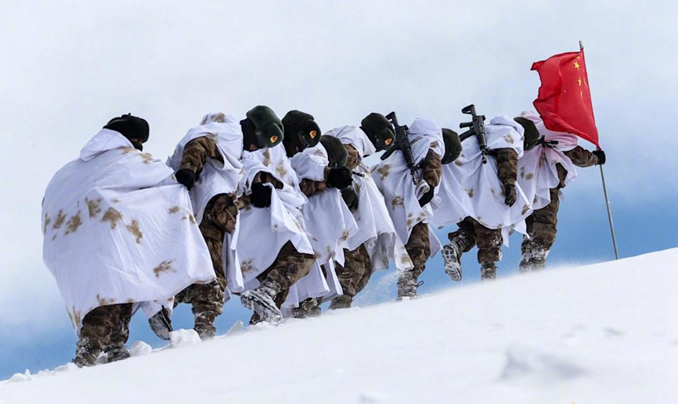Guo Lei, a doctor in the army division, said the guidelines were useful and had reduced the incidence of altitude sickness among the troops. Photo: Handout