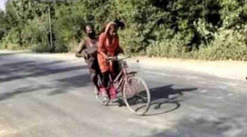 15-Year-Old Jyoti Kumari Carries Injured Father From Gurugram to Darbhanga, Called for Trials By Cycle Federation of India (Watch Video)