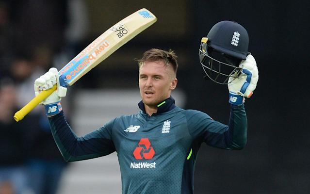 Jason Roy makes a century in England's reply to Pakistan's total of 340 at Trent Bridge - Popperfoto