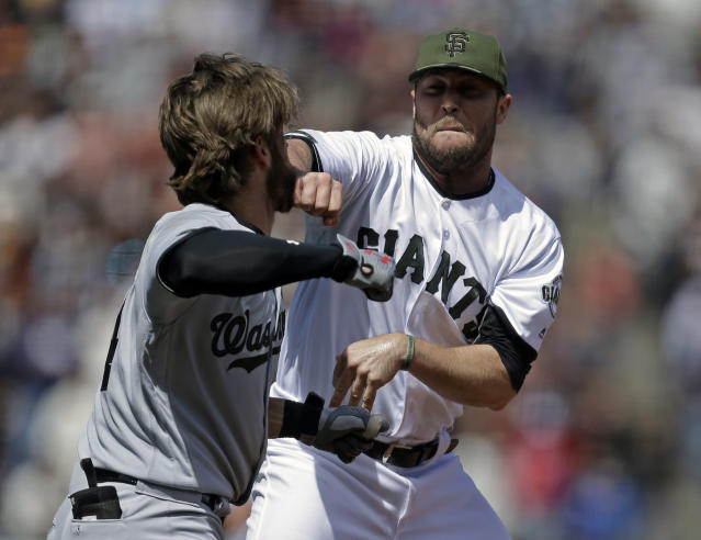 Hunter Strickland has a, um, checkered past with his new team. (AP)