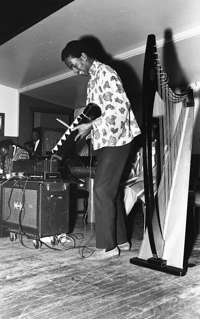 <p>Kelan Phil Cohran was a jazz musician best known for playing trumpet in the Sun Ra Arkestra from 1959 to 1961. He died June 28 at the age of 90.<br> (Photo: Getty Images) </p>
