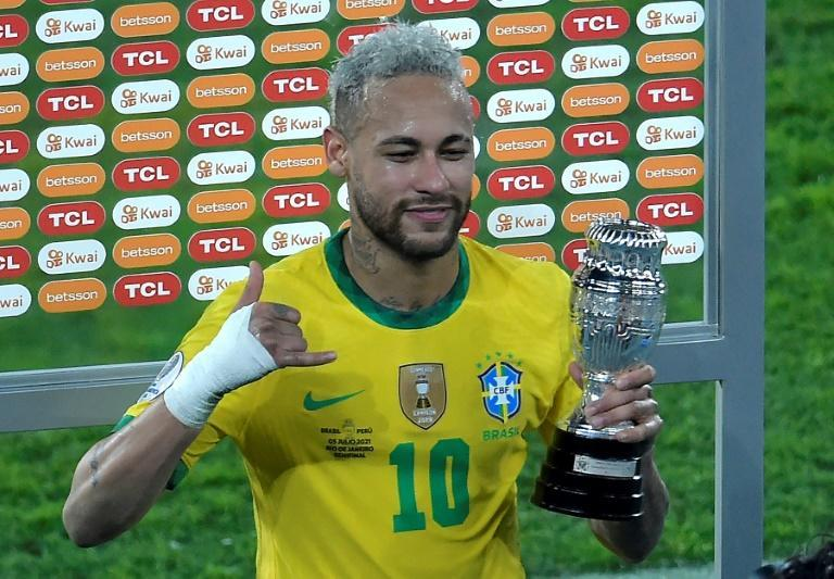 Brazil's Neymar missed his country's 2019 Copa America victory and is still waiting for his first major title with the Selecao