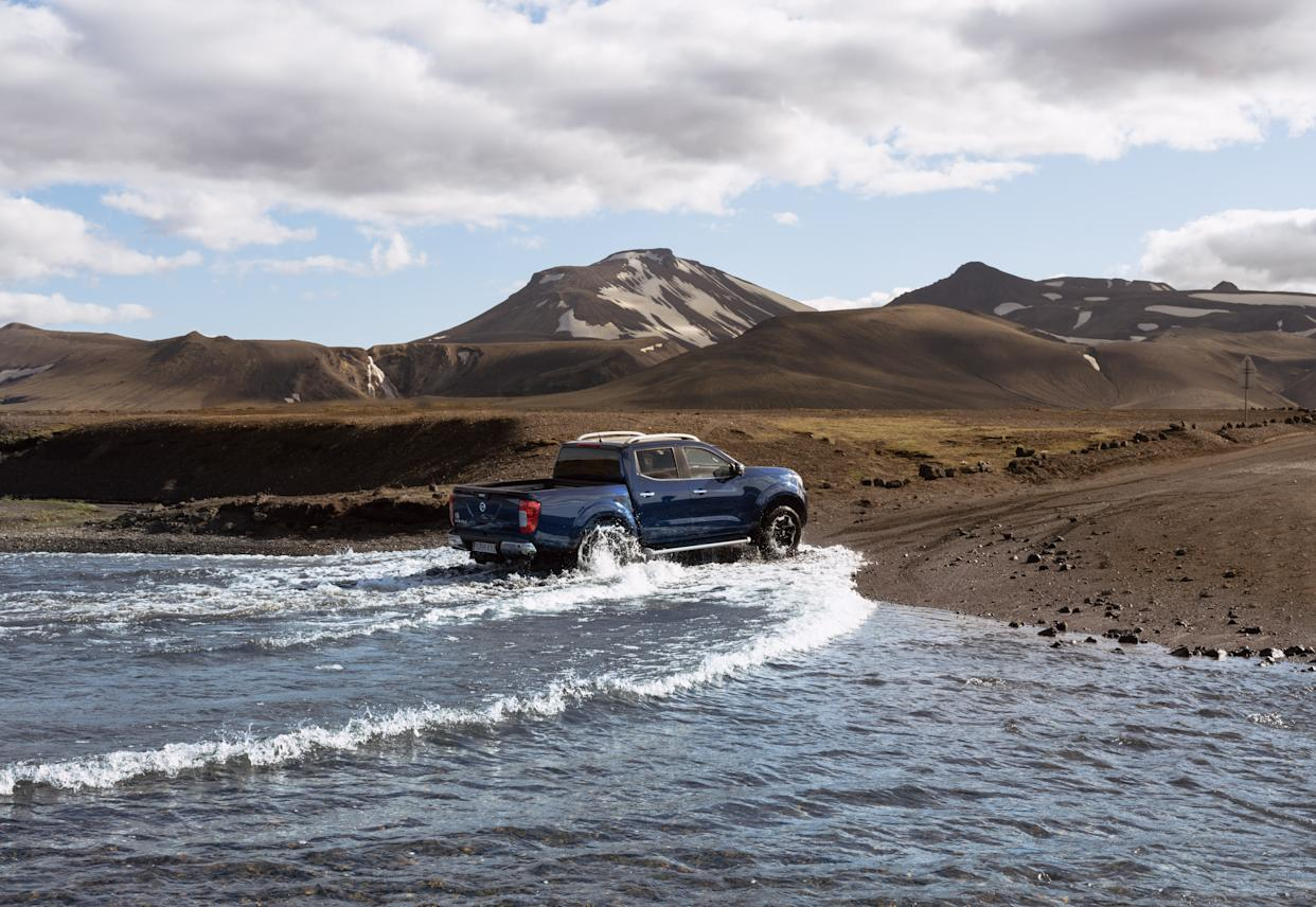 No matter what the surface, the Navara will tackle it