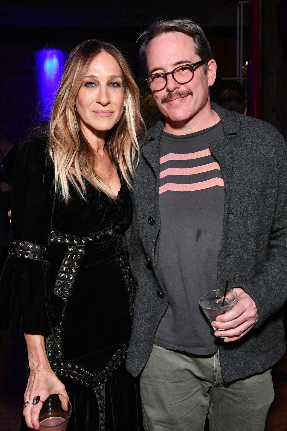 "<p>With a mutual love of the theatre, baseball, and New York City, it's no wonder Sarah Jessica Parker and Matthew Broderick fell in love and <a href=""https://www.goodhousekeeping.com/life/relationships/a47905/sarah-jessica-parker-matthew-broderick-marriage/"" rel=""nofollow noopener"" target=""_blank"" data-ylk=""slk:tied the knot"" class=""link rapid-noclick-resp"">tied the knot</a> in 1997. In true Carrie Bradshaw form, SJP went bold in a <a href=""https://www.harpersbazaar.com/celebrity/latest/news/a18222/sarah-jessica-parker-regrets-black-wedding-dress/"" rel=""nofollow noopener"" target=""_blank"" data-ylk=""slk:black Morgane Le Fay dress"" class=""link rapid-noclick-resp"">black Morgane Le Fay dress</a>.</p><p>Decades later and their love is still going strong. In the 2013 September Issue of <em><a href=""https://www.harpersbazaar.com/celebrity/latest/news/a1003/sarah-jessica-parker-interview-0913/"" rel=""nofollow noopener"" target=""_blank"" data-ylk=""slk:BAZAAR"" class=""link rapid-noclick-resp"">BAZAAR</a></em>, SJP stated: ""I love Matthew Broderick. Call me crazy, but I love him. We can only be in the marriage we are. We're very devoted to our family and our lives. I love our life. I love that he's the father of my children, and it's because of him that there's this whole other world that I love.""</p>"