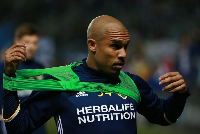 Nigel de Jong, pictured here in 2016, has signed for Bundesliga strugglers Mainz until the end of the season