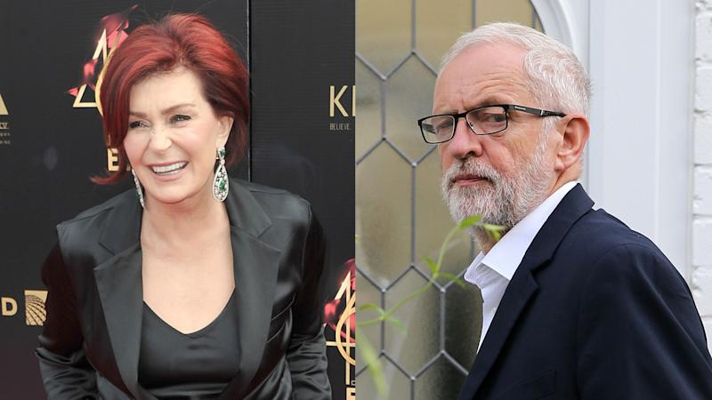 Sharon Osbourne unleashed a sweary rant against the Labour Party leader Jeremy Corbyn. (Photo by Richard Shotwell/Invision/AP/ISABEL INFANTES/AFP/Getty Images)