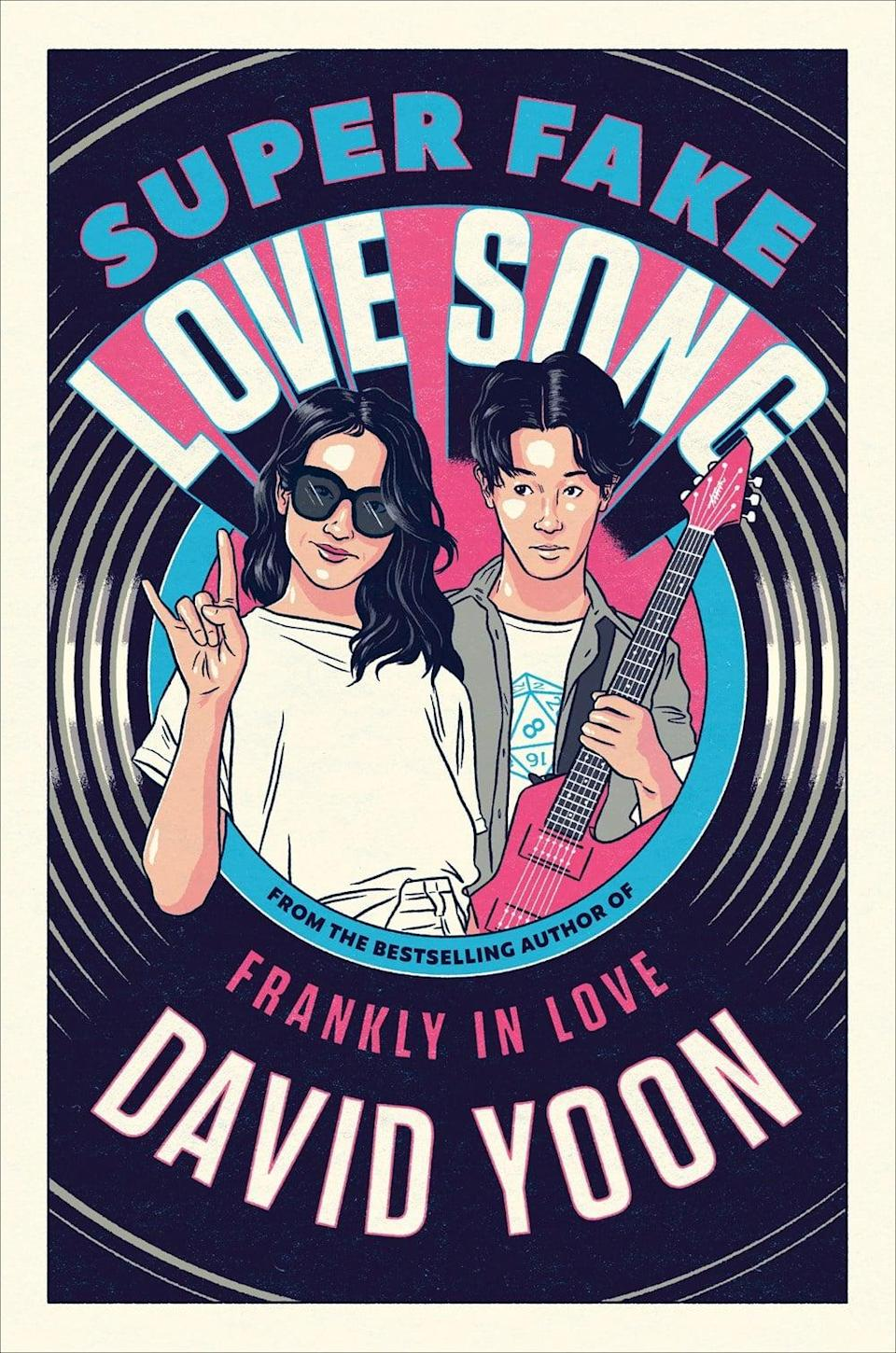 <p>Sweet and funny, <span><b>Super Fake Love Song</b></span> by David Yoon is a rom-com about a case of mistaken identity. When the nerdy Sunny Dae meets cool girl Cirrus Soh, she mistakes his rock and roll loving brother's room for his, and he's too embarrassed to correct her. Soon, Sunny loops his friends into forming a fake band with him so he can impress Sunny, only to find his new persona feels more and more real with every lie he tells. </p> <p><em>Out Nov. 17</em></p>