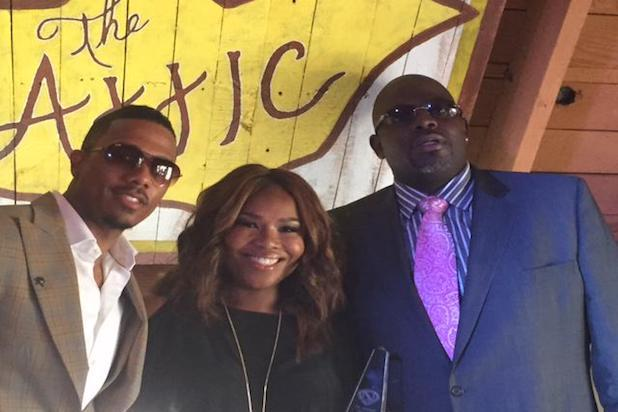 Nick Cannon, Mona Scott Young, Blue Williams Grammy Music Managers Brunch