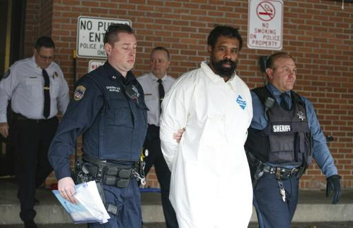 US media reported that the suspect in the Hanukkah stabbings, Grafton Thomas, 37, was covered in blood when officers detained him