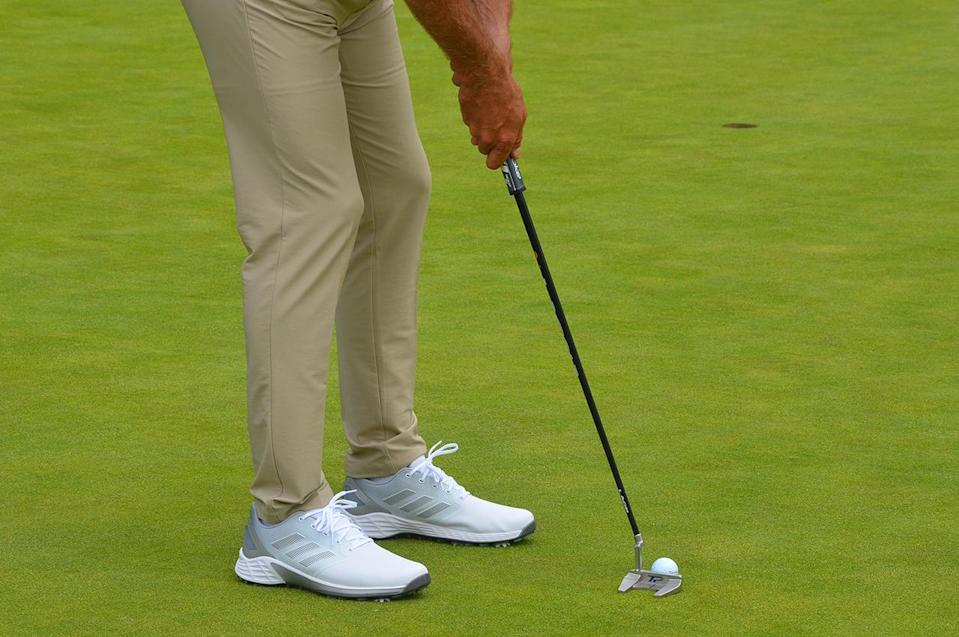 Dustin Johnson's TaylorMade putter