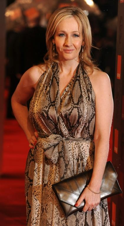 JK Rowling has courted little publicity for the release, after a row with the transgender community (AFP/BEN STANSALL)