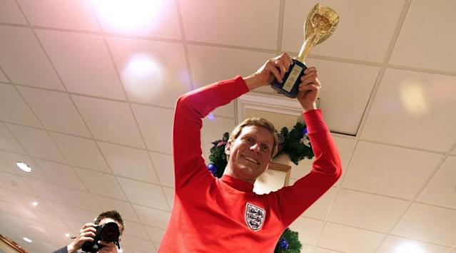 <p>Who could forget the famous image of Moore lifting the World Cup? Oh, right… </p>