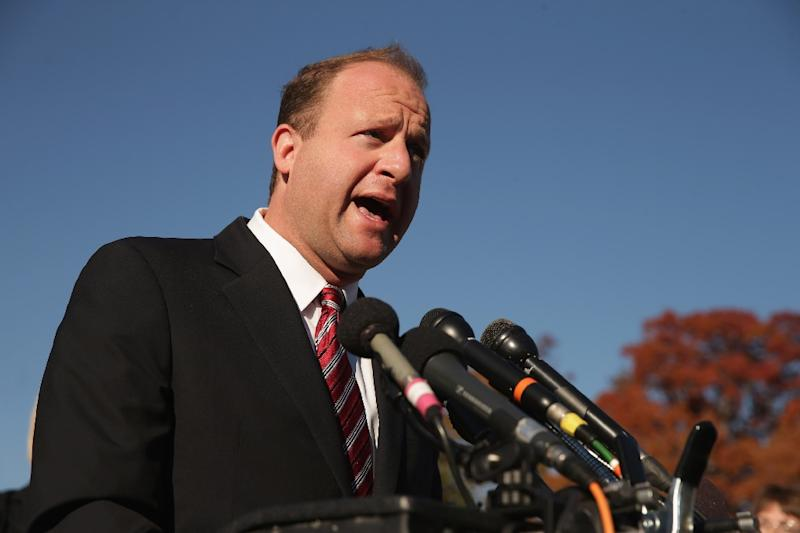 Five-term Democratic Congressman Jared Polis, pictured November 2014, defeated Republican Walker Stapleton to become the first openly gay person to be elected governor in the United States