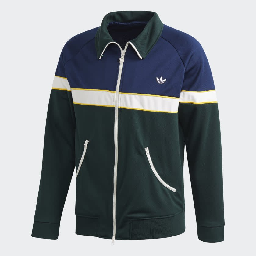 """<p><strong>adidas</strong></p><p>adidas.com</p><p><a href=""""https://go.redirectingat.com?id=74968X1596630&url=https%3A%2F%2Fwww.adidas.com%2Fus%2Ftrack-jacket%2FFM2195.html&sref=https%3A%2F%2Fwww.menshealth.com%2Fstyle%2Fg31826574%2Fadidas-spring-sale-mens-deals%2F"""" target=""""_blank"""">BUY IT HERE</a></p><p><del>$90.00</del><strong><br>$50.40</strong> with code MARCH30</p><p>Hello spring, hello layering. This track jacket is the ultimate lightweight zip-up for not-too-cold but not-too-warm spring weather.</p>"""
