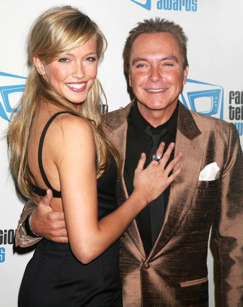 Katie and David Cassidy in 2007