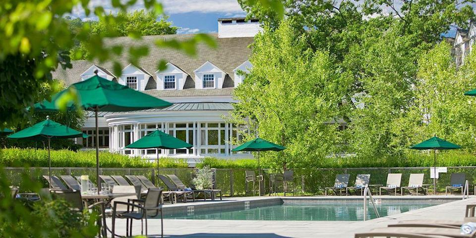 """<p>Taking pride of place in the storybook village of Woodstock is the <a href=""""https://www.tripadvisor.com/Hotel_Review-g60897-d115891-Reviews-Woodstock_Inn_and_Resort-Woodstock_Vermont.html"""" rel=""""nofollow noopener"""" target=""""_blank"""" data-ylk=""""slk:Woodstock Inn"""" class=""""link rapid-noclick-resp"""">Woodstock Inn</a>. Dating back to 1793, the <a href=""""https://www.bestproducts.com/fun-things-to-do/g18565294/charming-inns-in-every-state/"""" rel=""""nofollow noopener"""" target=""""_blank"""" data-ylk=""""slk:inn"""" class=""""link rapid-noclick-resp"""">inn</a> began as a tavern, eventually becoming the luxe colonial-style resort of today, complete with a pampering spa, an organic garden, and the elegant <a href=""""https://www.tripadvisor.com/Restaurant_Review-g60897-d1316031-Reviews-Red_Rooster_at_The_Woodstock_Inn_and_Resort-Woodstock_Vermont.html"""" rel=""""nofollow noopener"""" target=""""_blank"""" data-ylk=""""slk:The Red Rooster"""" class=""""link rapid-noclick-resp"""">The Red Rooster</a> restaurant. </p>"""