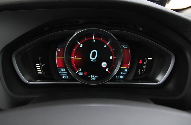 TFT active driver instrument display
