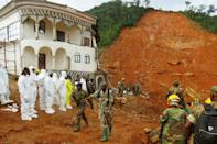 The government of Sierra Leone, one of the poorest countries in the world, has promised relief to more than 3,000 people left homeless