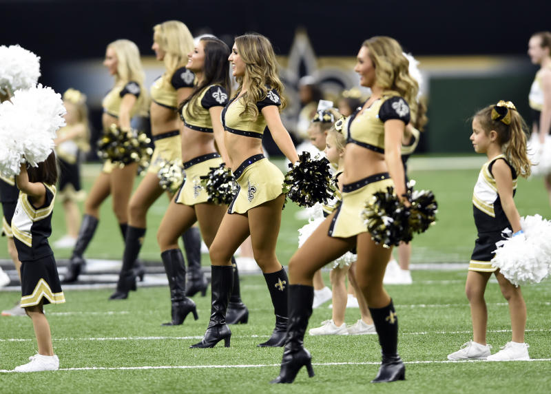 Former NFL Cheerleader Files Discrimination Complaint