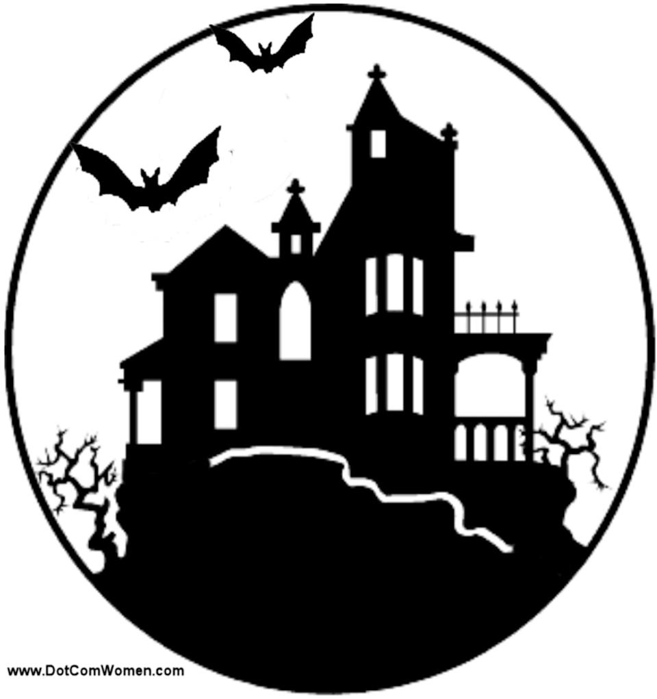 """<p>Outline this haunted house on a large pumpkin for the perfect spooky landscape.</p> <p> <a href=""""http://www.dotcomwomen.com/wp-content/uploads/2012/07/haunted-house-pattern.gif"""" class=""""link rapid-noclick-resp"""" rel=""""nofollow noopener"""" target=""""_blank"""" data-ylk=""""slk:Download the stencil here"""">Download the stencil here</a>.</p>"""