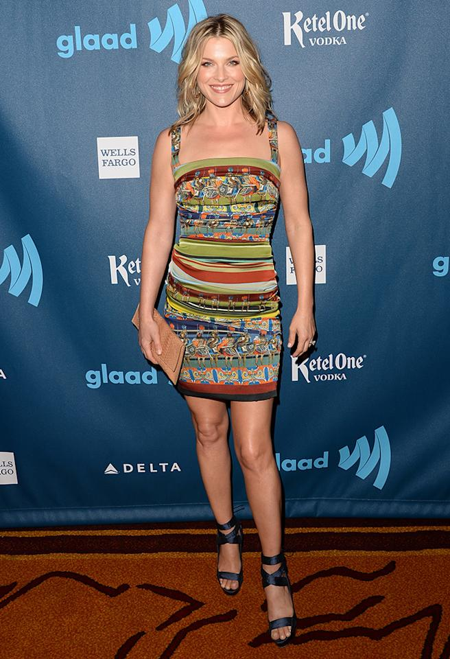 LOS ANGELES, CA - APRIL 20:  Actress Ali Larter arrives at the 24th Annual GLAAD Media Awards presented by Ketel One and Wells Fargo at JW Marriott Los Angeles at L.A. LIVE on April 20, 2013 in Los Angeles, California.  (Photo by Jason Merritt/Getty Images for GLAAD)