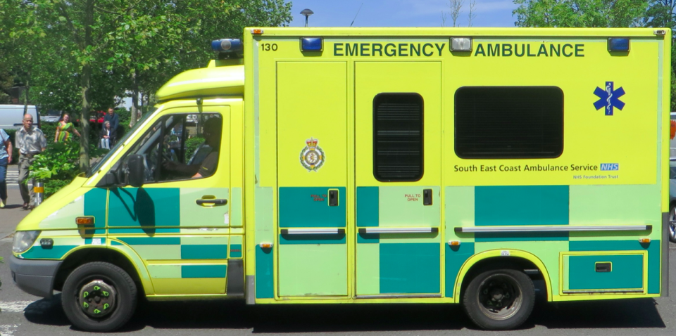 Paramedics from South East Coast Ambulance Service were sent to the wrong address. (Dickelbers/Wikipedia/Creative Commons)