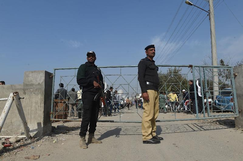 The trial was held in Lahore's Kot Lakhpat prison under tight security