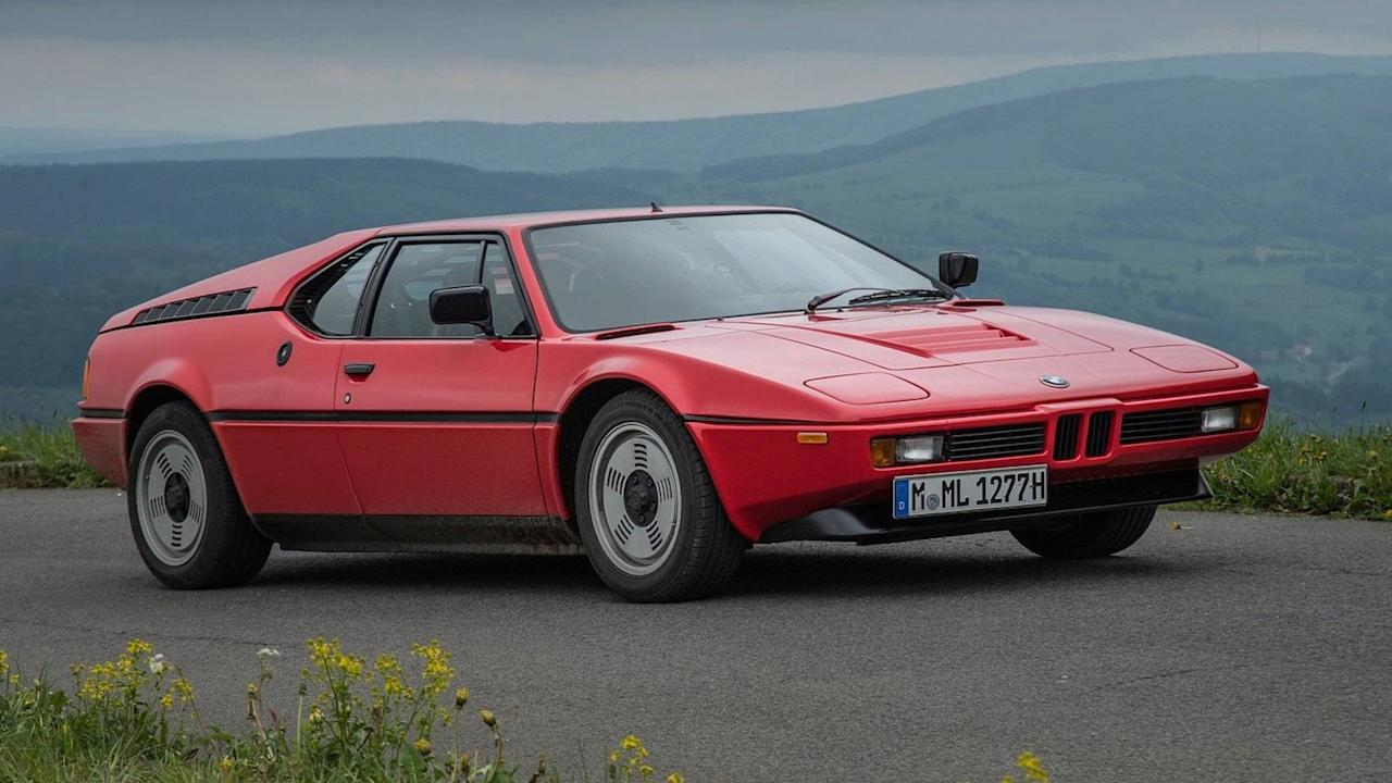 """<p>Famous automotive designer <a rel=""""nofollow"""" href=""""https://www.motor1.com/news/?tag=Giorgetto%20Giugiaro"""">Giorgetto Giugiaro</a> went through a period of creating low-slung, angular sports cars, and he often used pop-up headlights on these vehicles to allow for a pointy nose that looked very aerodynamic.</p> <p>As an example of this shape, check outGiugiaro's gorgeous body for the <a rel=""""nofollow"""" href=""""https://www.motor1.com/news/?tag=bmw%20m1"""">BMW M1</a>. The pop-up lights let him give the machine a low nose that makes the rare BMWappear ready to slice through the air.</p> <p></p>"""