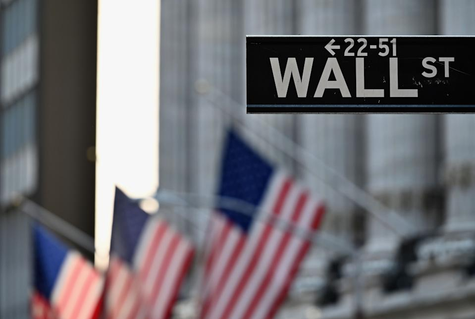 Wall street endured its worst week and month since March. Photo: Angela Weiss / AFP via Getty Images