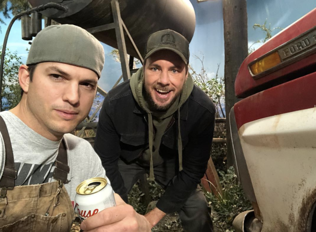 "<p>No, you're not being Punk'd, the hosts of the now-defunct MTV prank show really are back together! ""Reunited with an old buddy,"" Kutcher captioned this shot with pal Dax Shepard, who will be appearing with the actor on his Netflix show <em>The Ranch </em>in its upcomning season. (Photo: <a href=""https://www.instagram.com/p/BgXRbaLnLLH/?taken-by=aplusk"" rel=""nofollow noopener"" target=""_blank"" data-ylk=""slk:Ashton Kutcher via Instagram"" class=""link rapid-noclick-resp"">Ashton Kutcher via Instagram</a>) </p>"