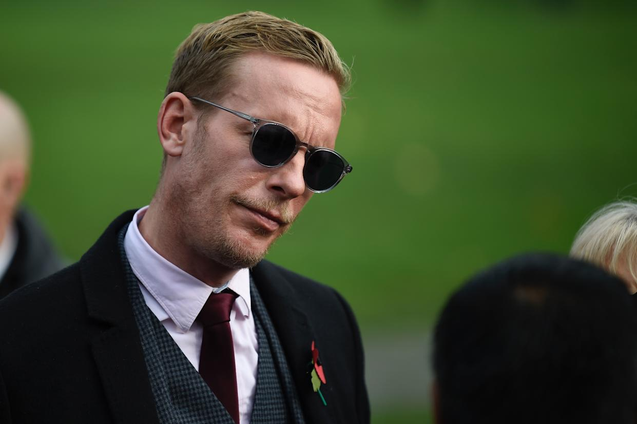 Laurence Fox has admitted to breaking lockdown rules (Photo by DANIEL LEAL-OLIVAS / AFP) (Photo by DANIEL LEAL-OLIVAS/AFP via Getty Images)
