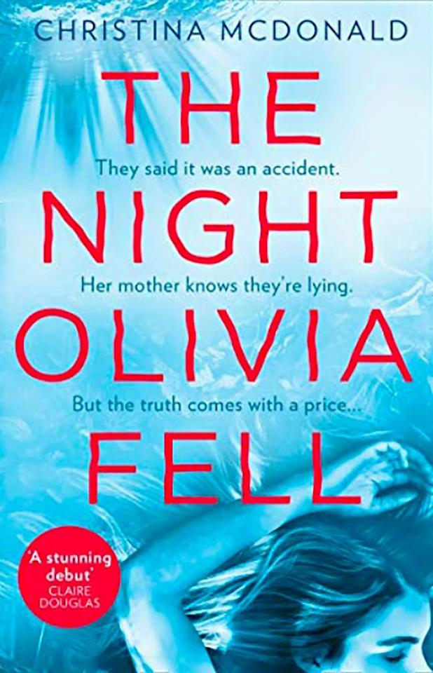"""<p><a rel=""""nofollow"""" href=""""https://www.amazon.co.uk/Night-Olivia-Fell-Christina-McDonald-ebook/dp/B07FBQVLCC/ref=sr_1_1?ie=UTF8&qid=1548675933&sr=8-1&keywords=The+Night+Olivia+Fell++by+Christina+McDonald"""">BUY NOW</a> £2.99, Amazon</p><p>When Abi Knight is woken in the middle of the night, she's informed that her daughter, Olivia, has had a terrible accident and is in intensive care. What follows is a complicated web of lies that Abi must unpick to reveal the truth about what really happened. </p>"""