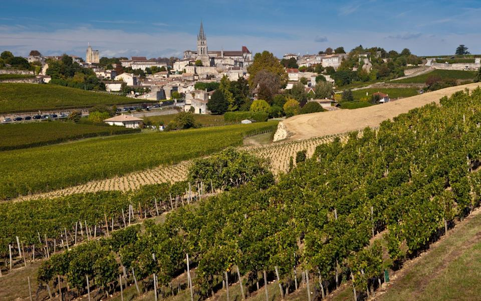 St Emilion in the Bordeaux wine region of France - Getty Images Europe