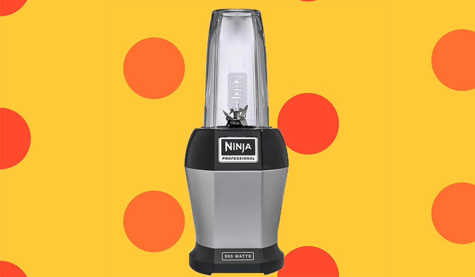 The NInja Nutri Pro Personal Blender is half off right now. (Photo: Amazon)