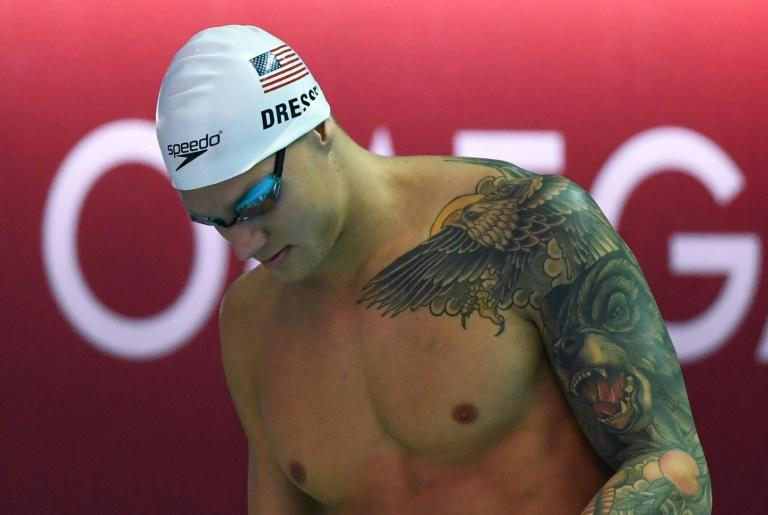 Caeleb Dressel says he turns to a book inspired by Bruce Lee called 'Zen in the Martial Arts' to bring him peace
