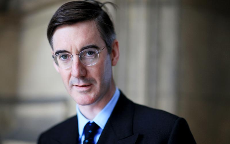 """Jacob Rees-Mogg was critical of the decision to increase probate charges, likening the move to a """"stealth tax"""" - Credit: Clara Molden/Telegraph"""
