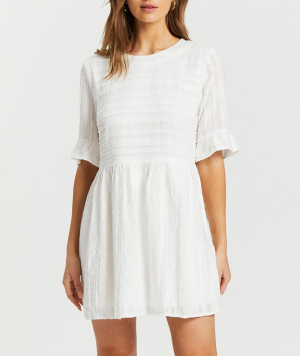 Atmos&Here Shelley Mini Dress $79.99 from The Iconic
