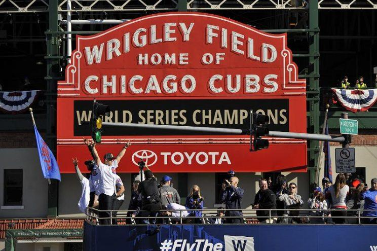 Cardinals fans can try to deny it, but the Chicago Cubs will forever be the 2016 World Series champions. (AP)