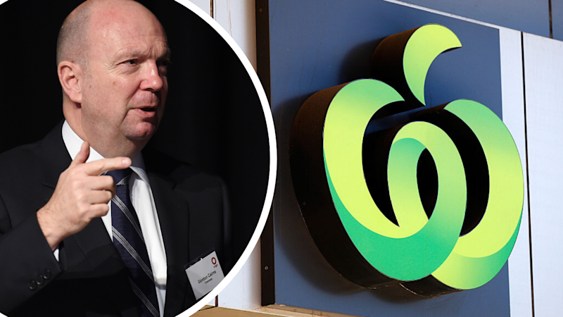 Gordon Cairns, Woolworths chairman. (Source: AAP, Getty)
