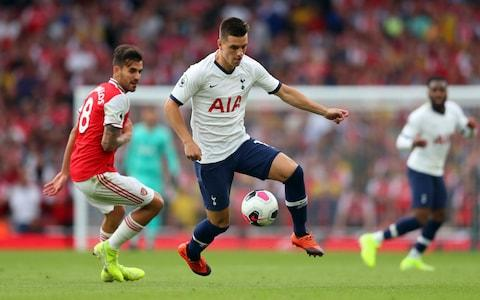 Giovani Lo Celso of Tottenham Hotspur during the Premier League match between Arsenal fC and Tottenham Hotspur at Emirates Stadium - Credit: GETTY IMAGES
