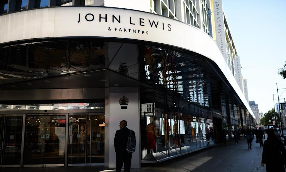 John Lewis's flagship store in Oxford Street, part of which the firm plans to convert into office space.