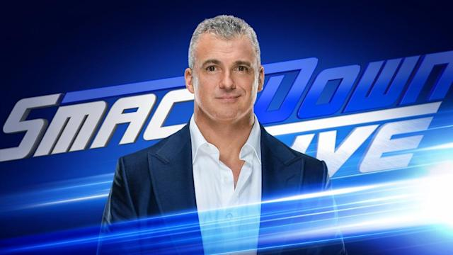 WWE SmackDown Live Results: Shane McMahon to Makes WrestleMania Announcement