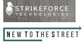 StrikeForce Technologies, Inc.'s (OTCQB:SFOR) interviews can be seen on the following networks: 1)Fox Business Network, Monday, July 26, 2021 at 10:30 PM PT 2)Fox Business Network, Tuesday, July 27, 2021 at 10:30 PM PT 3)Bloomberg Television, Saturday, July 31, 2021 at 10:30 PM ET https://www.strikeforcetech.com/ and www.newtothestreet.com