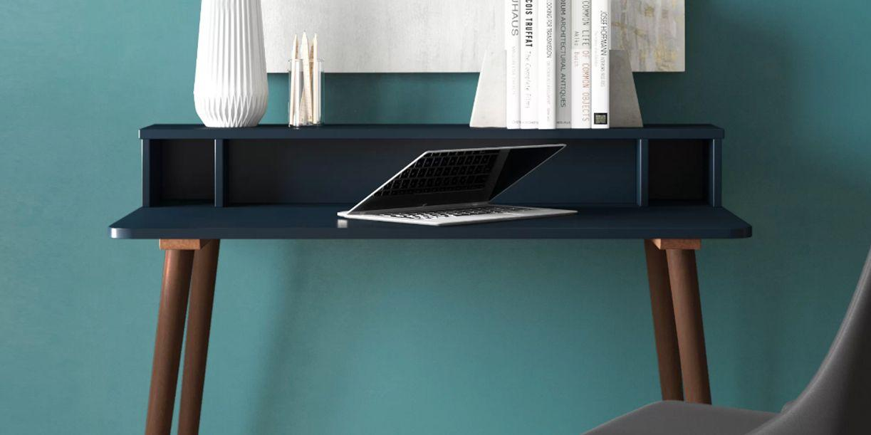 """<p>The <a href=""""https://www.onekingslane.com/live-love-home/the-essential-guide-to-the-secretary-desk/"""" target=""""_blank"""">internally oriented design</a> of the secretary desk makes it the ultimate organization hub for the home. These furniture pieces are usually equipped with a hutch, a shelf, or cubbies that help you keep all of your work necessities right within arm's reach. Here are 10 of our favorite picks that'll make any room into a home office.</p>"""