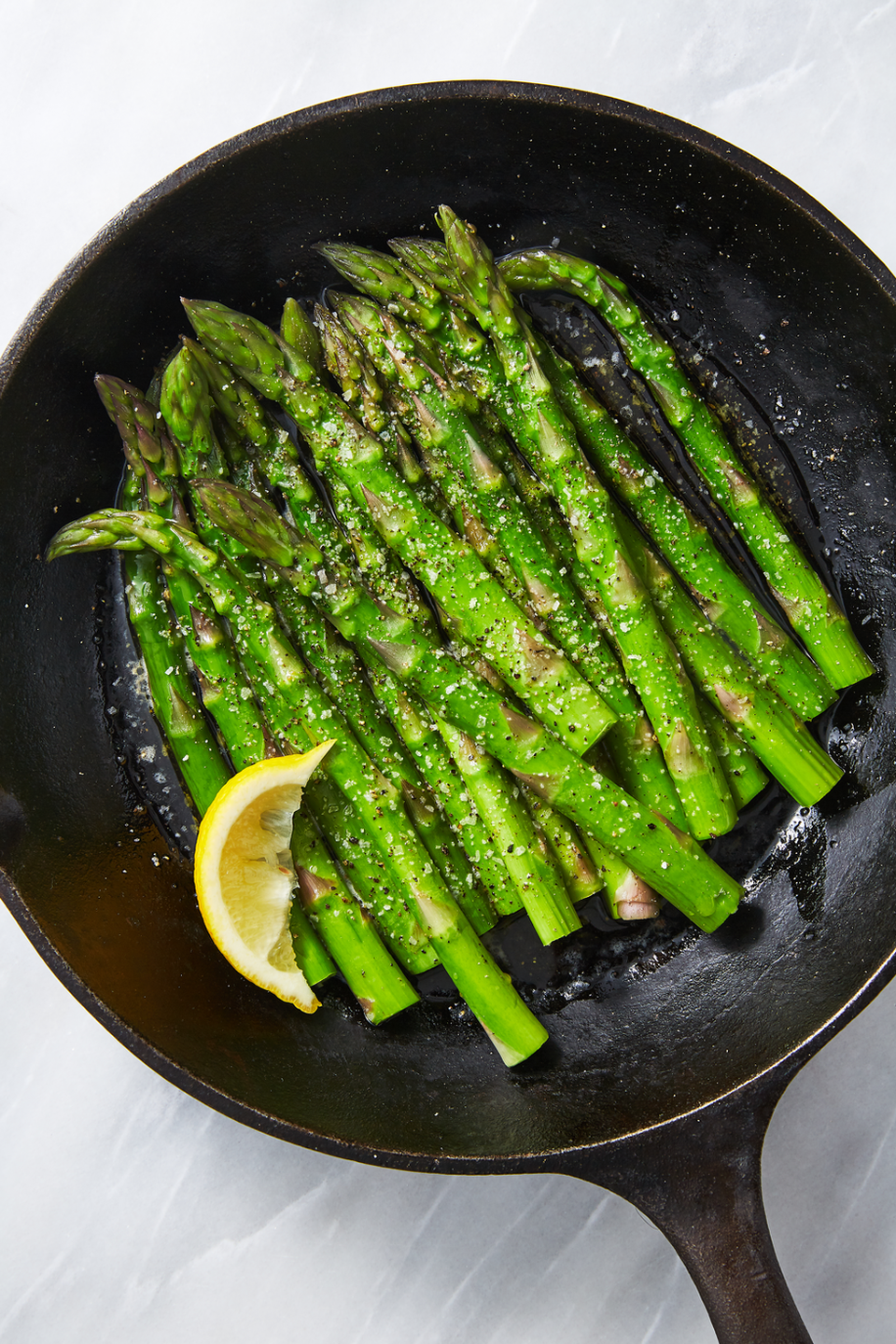 """<p>If Easter had an official side dish, it would be this zippy green fibers stalk; <a href=""""https://www.goodhousekeeping.com/food-recipes/cooking/g19746678/how-to-cook-asparagus/"""" rel=""""nofollow noopener"""" target=""""_blank"""" data-ylk=""""slk:asparagus is at peak freshness"""" class=""""link rapid-noclick-resp"""">asparagus is at peak freshness</a> right before summer hits.</p><p><em><a href=""""https://www.delish.com/cooking/recipe-ideas/a26816043/easy-steamed-asparagus-recipe/"""" rel=""""nofollow noopener"""" target=""""_blank"""" data-ylk=""""slk:Get the recipe from Delish »"""" class=""""link rapid-noclick-resp"""">Get the recipe from Delish »</a></em></p>"""