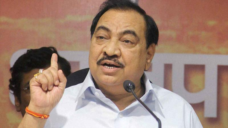 FIR Registered Against BJP Leader Khadse, His Wife, Two Others