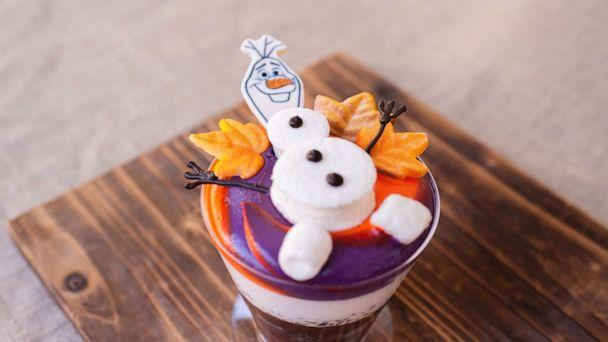 PHOTO: Olaf's Frozen Hot Chocolate from Main Street Bakery for Mickey's Very Merry Christmas Party at Magic Kingdom Park. (Disney Parks)