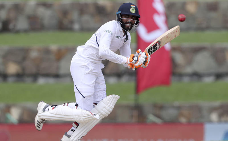 Ravindra Jadeja played a gritty knock of 58 after India started the day at 203-6. His 112-ball knock consisted of six fours and one six. AP